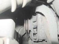 Opel Astra F kombi - Brak elementu przy alternatorze (?) + kontrolka