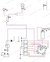 Jawa 50 - Przeróbka instalacji elektrycznej 12V