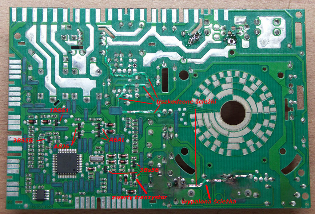 uszkodzenie programatora od Polar PWA 1051/P