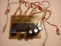 Atmega16 - Sterowanie diodą RGB - Atmega16