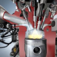 Wtrysk wody w silniku spalinowym - innowacja Boscha.