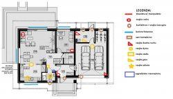 Instalacja alarmowa+kamery+ domofon w nowym domu