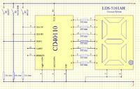Licznik impulsów na układzie CD40110