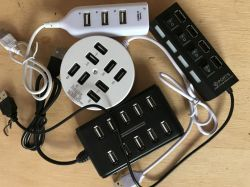Przegląd tanich hubów USB z Aliexpress