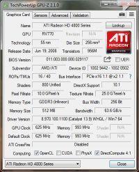 Radeon Sapphire 4850 directx 11