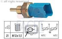 peugeot 307 16v - Dopasowanie czujnika temperatury do nowej obudowy termostatu.
