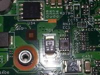 Lenovo v560 - Przesta� dzia�a� laptop Lenovo v560, spalony jaki� uk�ad.