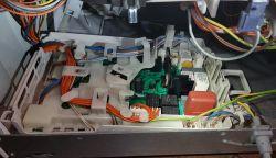 Pralka Bosch WLM20440PL - nie działa wyświetlacz