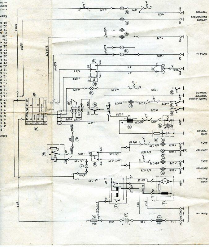 MZ TS-150 - Zmiana przerywacza kierunkowskazów na LED-y