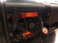 Radio Delphi F250FL w Ducato - generuje błędy w Can