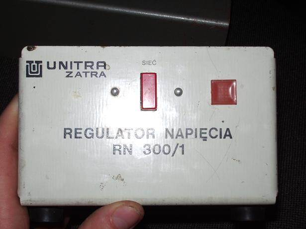Unitra ZATRA RN 300/1 Regulator Napięcia