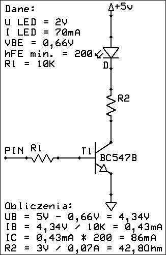 Sterowanie urządzeniami z portów ATMEGA