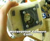 Wodoodporna obudowa na aparat z pudełka na żywność