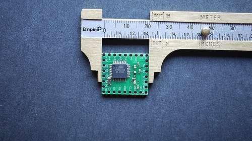 """Minimoduł 1""""x1"""" 22 I/O kompatybilny z Arduino"""