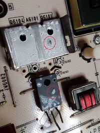 SONY KDL-40NX720 - Tryb protection mode 2x blink miga. Wskazuje na Power Error