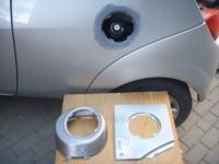 Ford KA MK1 - korozja wlewu paliwa