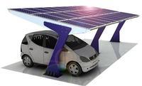 ogniwa fotoelektryczne i lekki samochód elektryczny