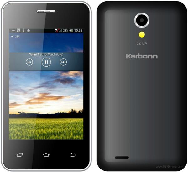 "Karbonn A50s - tani smartphone z 3,5"" ekranem i Dual-SIM"
