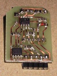 Rejestrator temperatury, PIC + EEPROM
