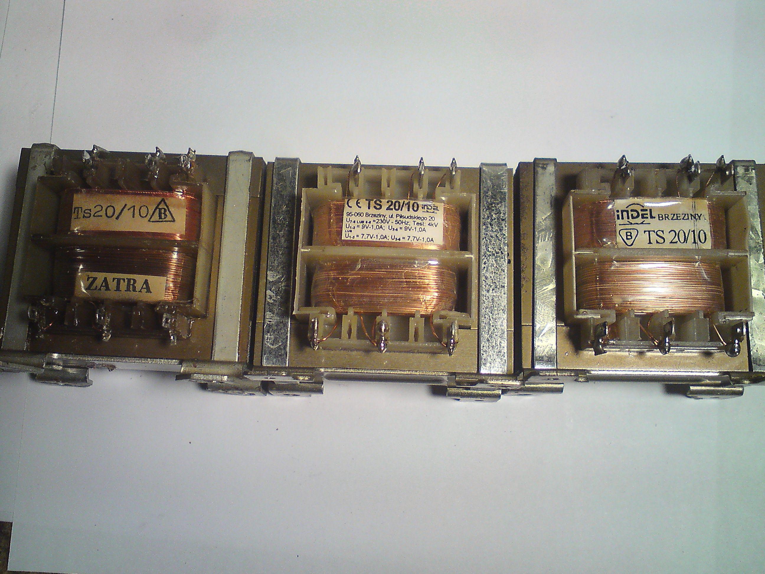 - Transformator TS2/840/1 - jakie napi�cie?