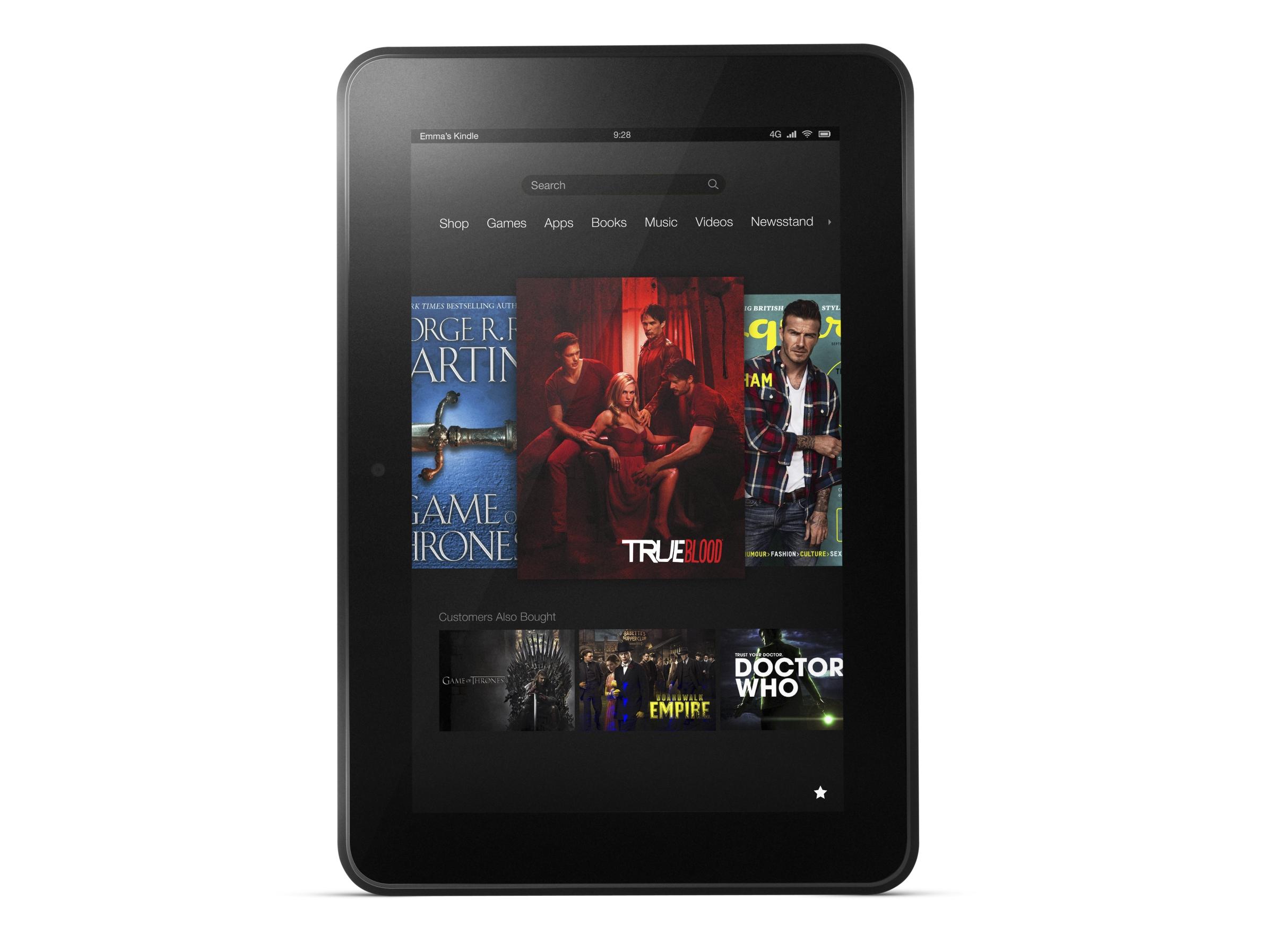 8,9-calowy tablet Kindle Fire HD 8.9 dla student�w o 50 dolar�w taniej