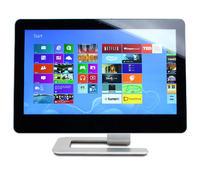 """CyberPower Zeus Touch - komputer AIO z 21,5"""" ekranem dotykowym i Windows 8"""