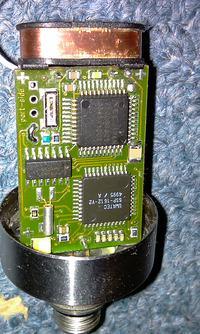 NEC uPD7500 odczyt RAM i ROM