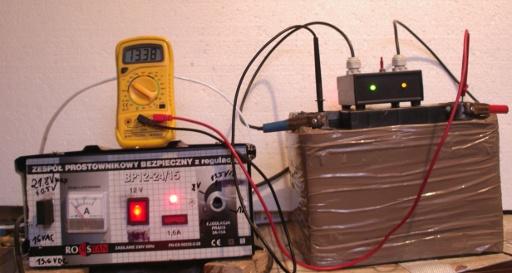 Desulfator - urz�dzenie do naprawiania akumulator�w