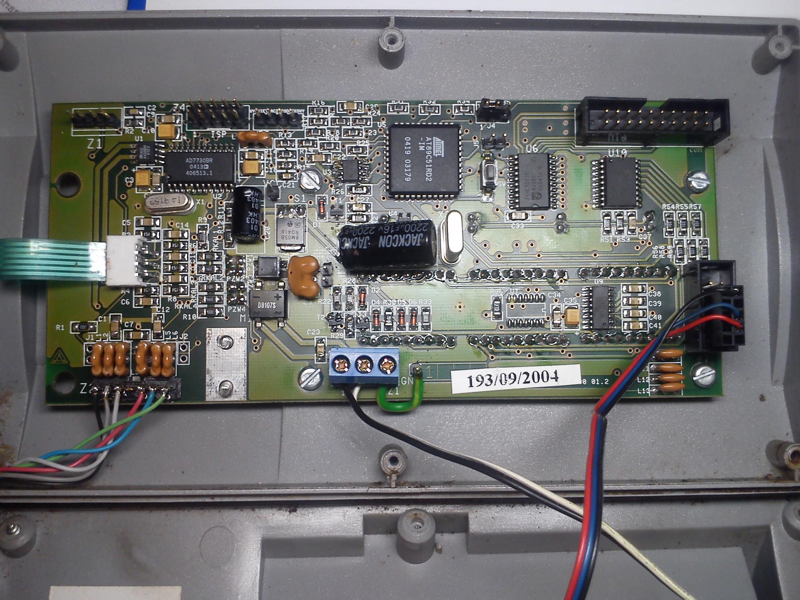 Waga FAWAG TP 150/1   - miernik ZOT-3 brak mo�liwo�ci kalibracji