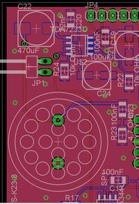 TDA7233D i cykanie podczas transmisji 1Wire