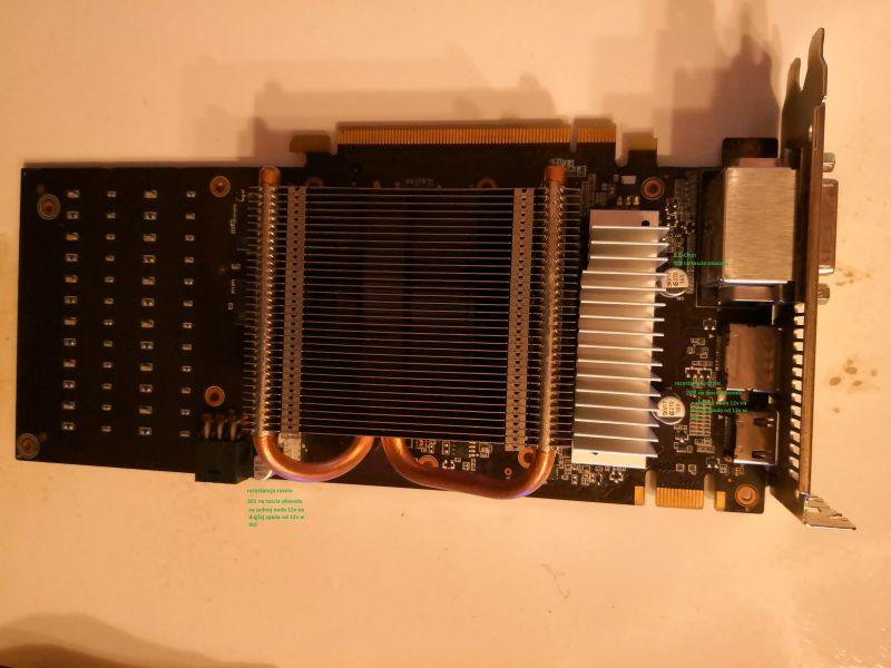 Palit GTX960 - brak ekranu, zasilanie za wysokie