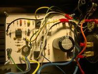 Zasilacz laboratoryjny 0-30V 0,002-3A grzanie się układu U2