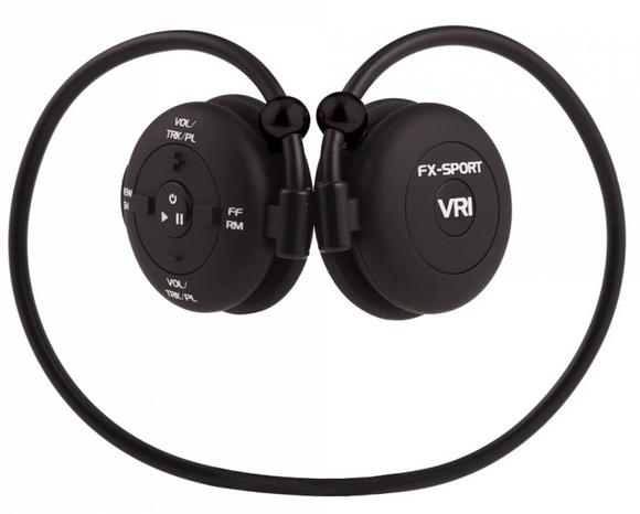 FX-SPORT VR1 - programowalne s�uchawki treningowe z wbudowanym odtwarzaczem MP3