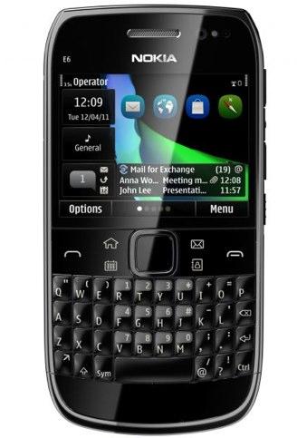 NOKIA E6 - oficjalna specyfikacja smartphone'a