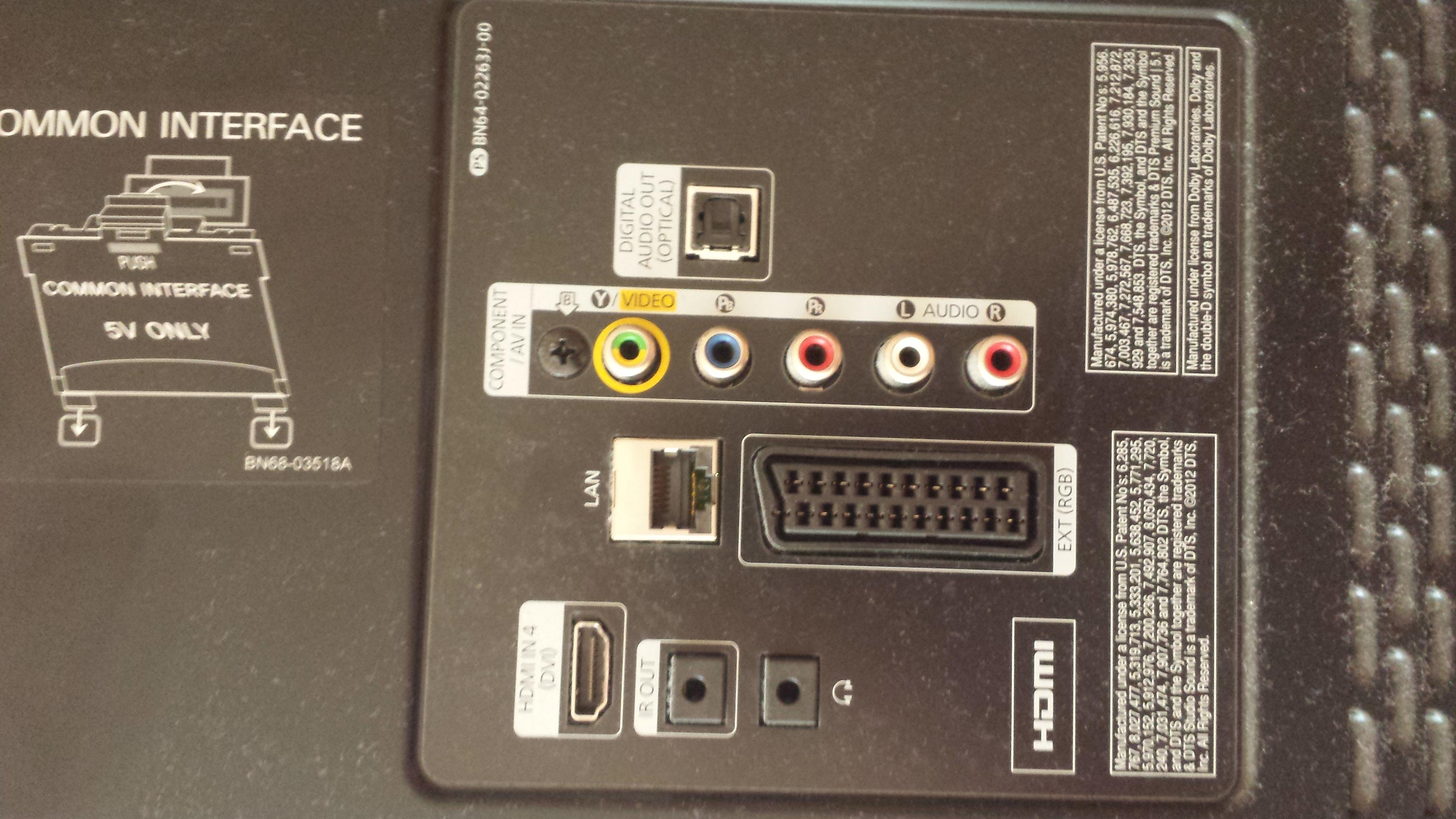 DVD bez HDMI - brak mo�liwo�ci pod��czenia g�o�nik�w