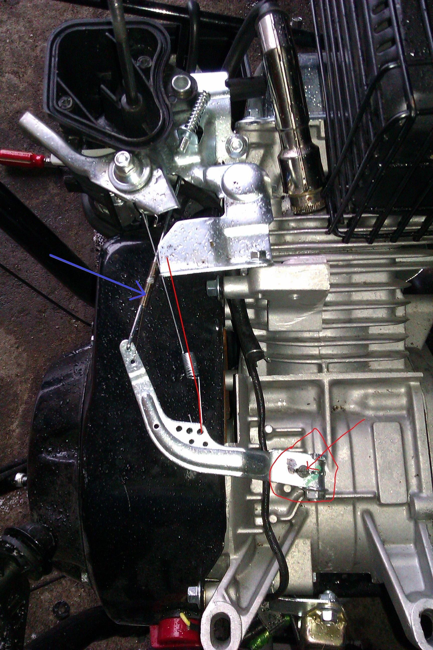Od�nie�arka NAC 6,5KM brak mocy, niskie obroty silnika
