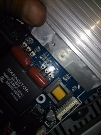 Płyta indukcyjna Samsung CTN464NC01 - rozpoznanie diody oraz diod Zenera