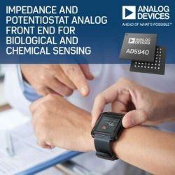 Nowoczesny front-end analogowy dla sensorów elektrochemicznych od ADI