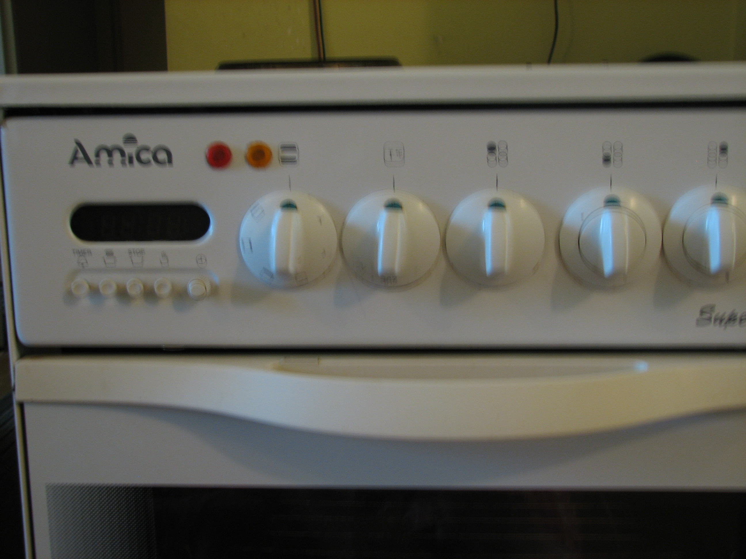 [Inne] kuchenka Amica Super Line z elektrycznym piekarnikiem i 1 palnikiem -> Kuchnia Amica Instrukcja Obslugi Piekarnika
