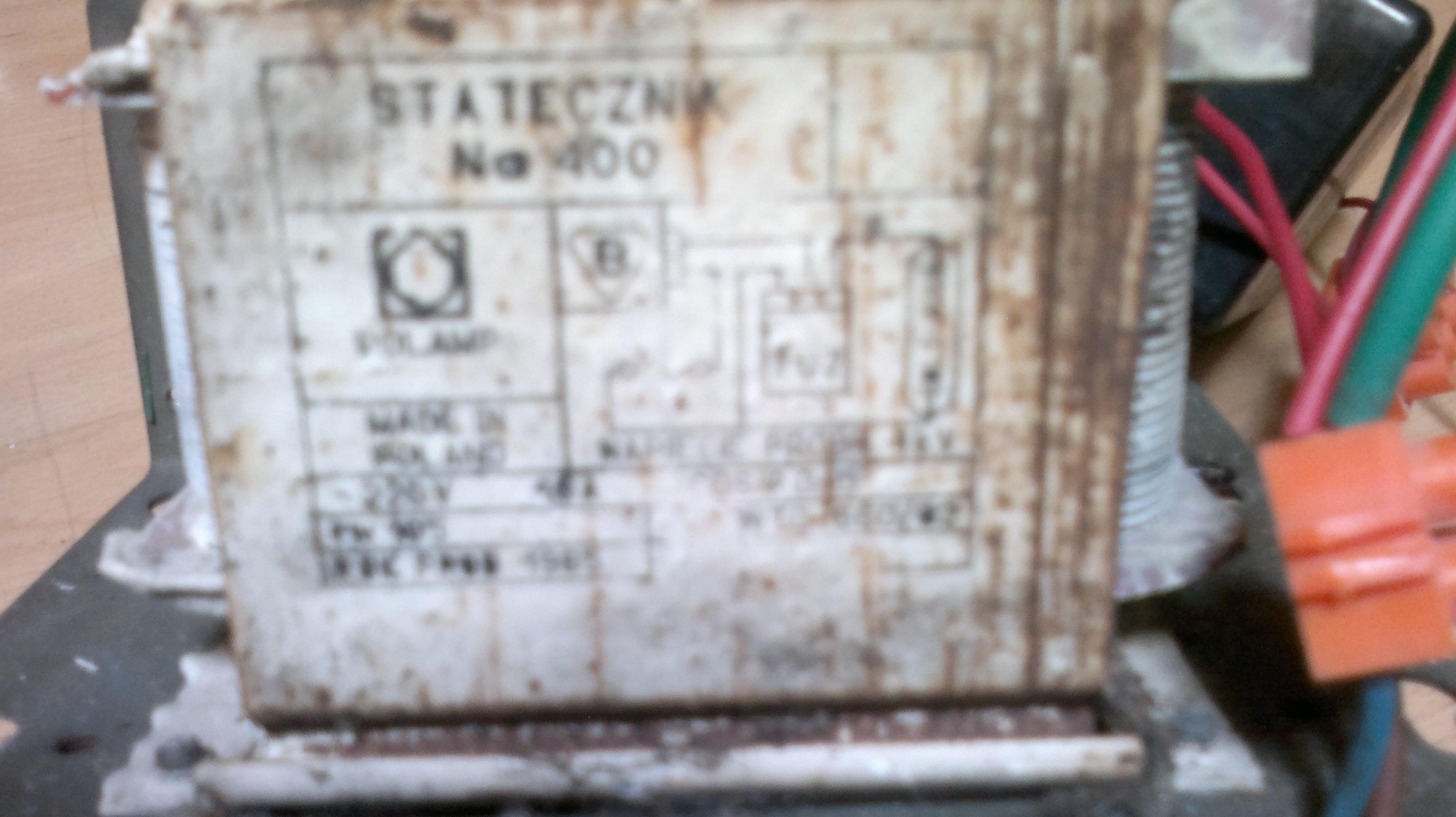 Uk�ad zap�onowy Statecznik Lampa HPS 250W