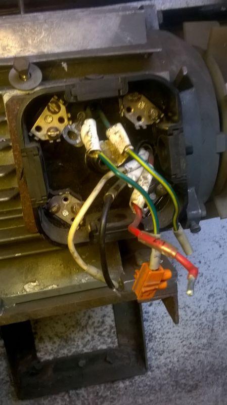 S Bke 90 L4 podłączenie - kondensator