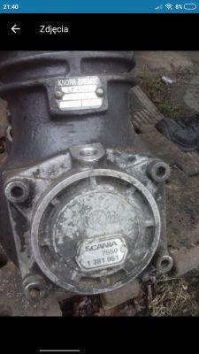 Sprężarka Scania KNORR LP4844 jak rozwiązać smarowanie chłodzenie i moc