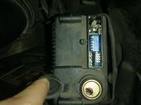 Identyfikacja fabrycznego alarmu Renault Scenic I 1998r