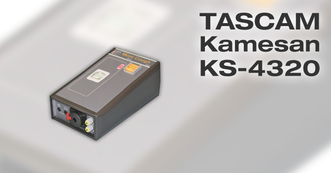 Tascam Kamesan KS-4320 manual EN