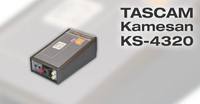 Tascam Kamesan KS-4320 manual EN