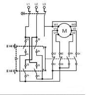 ABUS - Schemat wciagnika Abus - brak sterownika (silnik 3-fazowy)