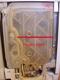 Bosch SMV58L60EU - woda w płaszczu wodnym, głośna praca