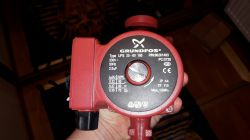 Podłączenie pompy Grundfos UPS 25 60