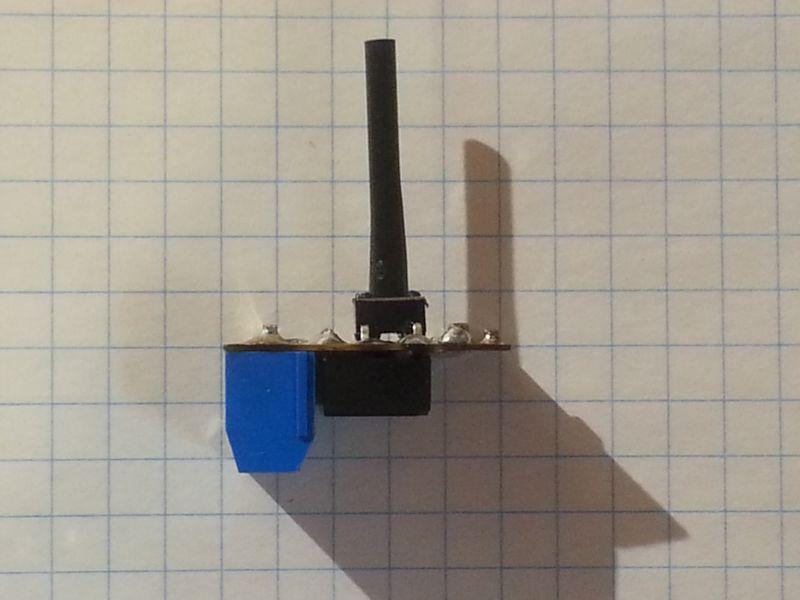 Impulsowy przekaźnik bistabilny (sterowanie jedną cewką)