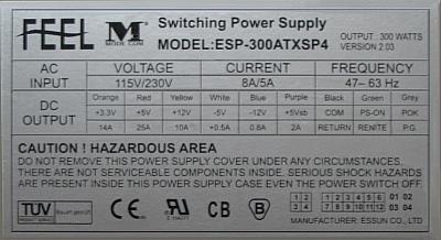 Mode Com model: ESP-300 ATXSP4 zamiennik dla SB1640